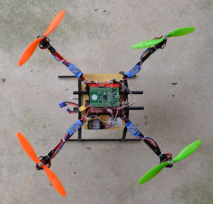 Figure 6 Discover F3-based quadcopter with TauLabs firmware.jpg