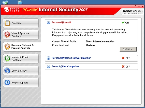 Trend Micro Security 2007 review: Trend Micro Security ...