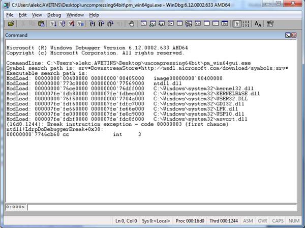Virus Bulletin :: Unpacking x64 PE+ binaries part 2: using