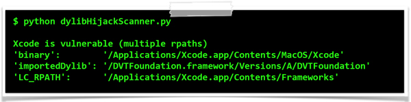 Apple's vulnerable IDE, Xcode.