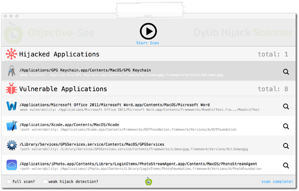 Virus Bulletin :: Dylib hijacking on OS X