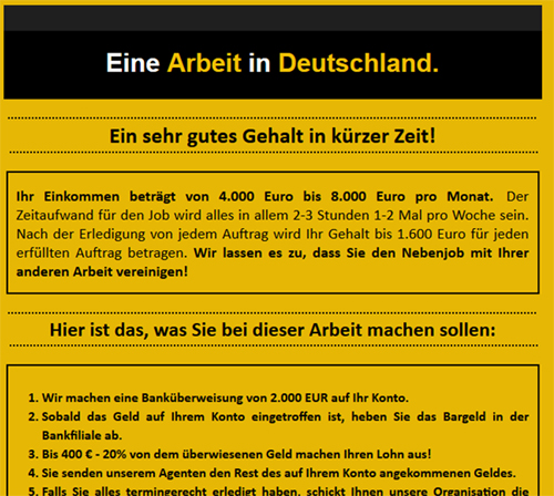 A single spam campaign targeting German users caused problems for almost all products in the test.