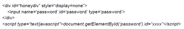 Example of changing the element ID at runtime.