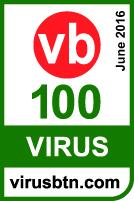 Virus Bulletin testing windows server 2012