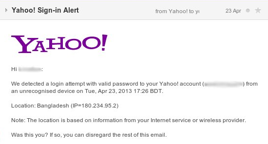 Virus Bulletin :: Compromised Yahoo! accounts continue to